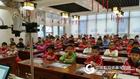 华文众合装配山东烟台数字化书法教室