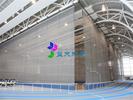 折叠式体育馆电动分隔幕