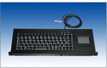 HX-5188 88键工业级抽屉键盘(带触摸鼠标板)