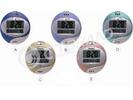 CT-8052液晶显示挂钟