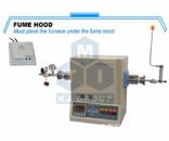 1500℃小型氢气管式炉-GSL-1500X-50HG