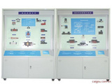 BPYQC-8 型液压、气压传动陈列柜