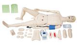 高级全功能护理人模型(带血压测量),护理训练模型,医用护理模拟人