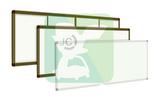 河北海捷微光量子一板三用环保教学板 黑板白板电子板集于一体