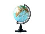 直径14.16cm平面地球仪