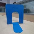 龙腾图书馆书立加厚钢板书靠书档板中大号防滑简易创意伸缩书立