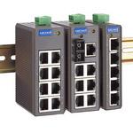 moxa工业以太网交换机EDS-208/205