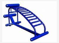 供应户外健身器材小区室外健身路径单人腹肌板