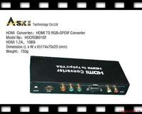 hdmi转色差(YUV)+VGA转换器,hdmi接口转换器