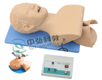 XB-5S高级电子人体气管插管训练模型(带报警) 人体气管插管模型