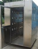 蘇州單人雙吹風淋室廠家  不銹鋼風淋室供應