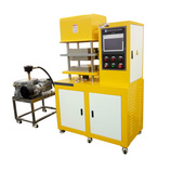锡华XH-406C-50T抽真空热压成型机  四柱平板压片机  PLC控制抽真空硫化机