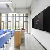 鑫星智能纳米黑板黑板一体机电容触控