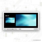 4K高清示教子母屏  可定制电容触控大屏子母一体机