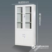 生產鐵皮柜 鋼制文件柜 五節文件柜 六門更衣柜廠家