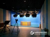 校園高清演播室虛擬真三維演播室校園電視台演播室