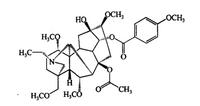 草烏甲素,107668-79-1,bulleyaconitine A