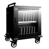 多功能智能平板充电柜 移动式平板电脑充电箱 电子书包柜 移动充电车
