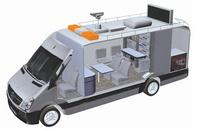 机动车尾气移动执法监测车