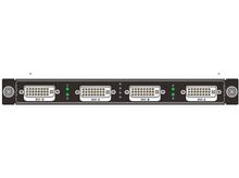 RENSTRON單卡4路2圖層DVI帶底圖和字幕拼接輸出卡FSP-DM-O4混插板卡LED視頻處理器大屏液晶拼接控制器