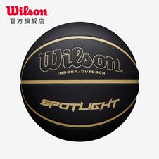 威尔胜(Wilson)SPOTLIGHT COMP BSKT BLGO SZ7 CN 黑色7号PU材质成人室内外通用篮球WTB6900IB07CN/WTB6903IB07CN