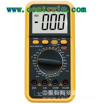 数字多用表/数字万用表(三位半精度) 型号:SHLG-VC9802A+