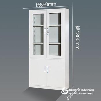 生产铁皮柜 钢制文件柜 五节文件柜 六门更衣柜厂家