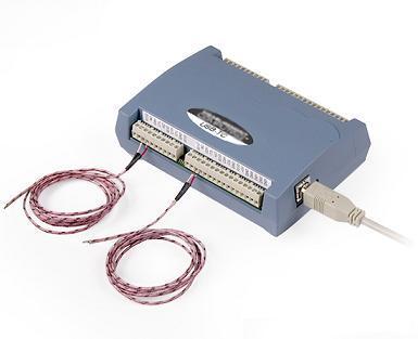 八通道USB热电偶数据采集系统