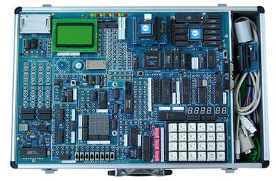 DICE-598K超强型三合一单片机微机开发实验装置