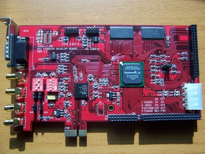 PCI开发板,PCI总线开发板,S2500 PCI EXPRESS x1 开发板