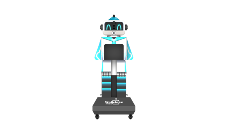 开学测温设备-学生测温设备-学校开学设备-沃柯雷克晨检机器人