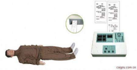 小屏幕液晶彩显高级全自动电脑心肺复苏模拟人
