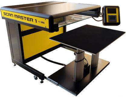SMA Scan Master 1-35 1200 dpi A1电动书托高精度古籍扫描仪