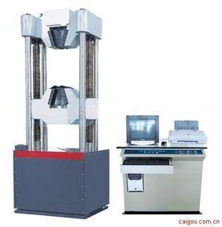 WEW-1000微机电液伺服钢绞线拉力试验机