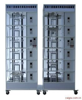BPDT-2008群控六层透明仿真教学电梯模型