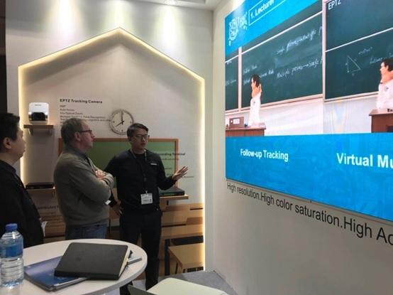 ISE2018 科达迈进欧洲教育&显示两大市场