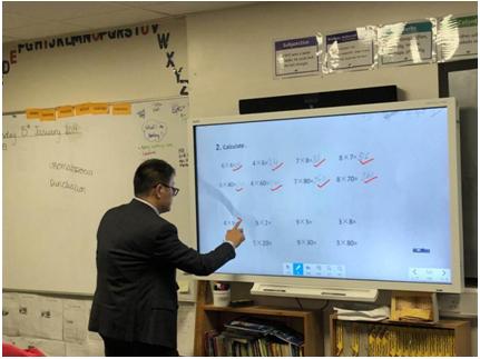 希沃白板案例 | 带着中国信息化教学走出国门