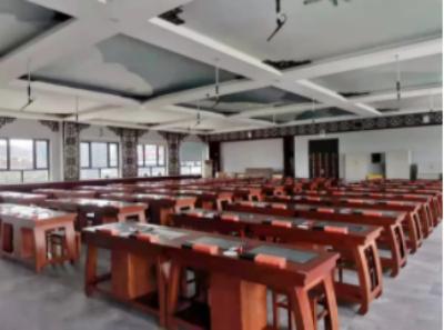 案例 | 打造新疆120学生位大型智慧书法教室,乌市十三中素质教育魅力无限!