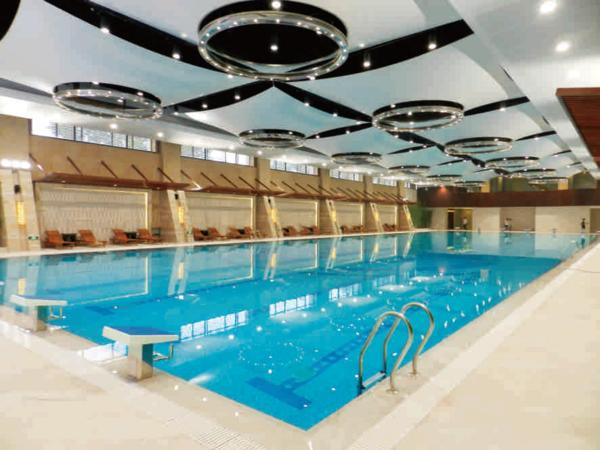 室内泳池恒温恒湿空气控制系统成功案例