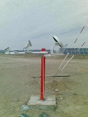 吉林电厂太阳能监测系站项目完成验收