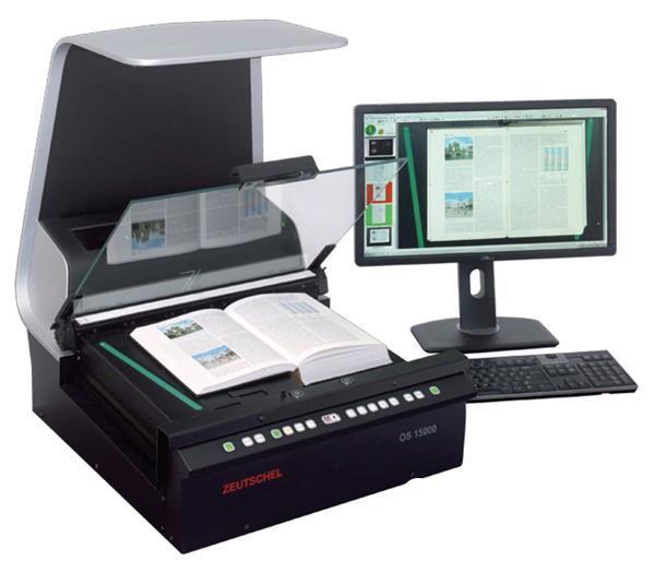 """书刊扫描仪助力数字化阅读 让书山有""""路"""""""