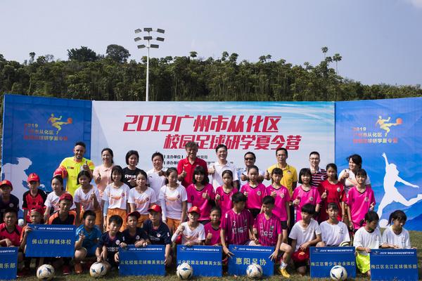 广州从化校园足球夏令营开营 足球科技精彩亮相