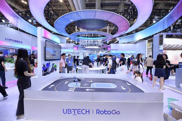 优必选科技亮相第79届中国教育装备展 秀人工智能教育优选实力