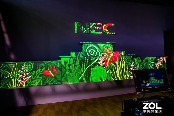 InfoComm 2019:鴻合科技展示多款NEC工程投影
