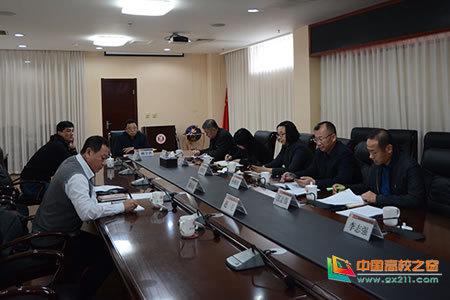 沈阳体育学院党委理论学习中心组进行集体学习