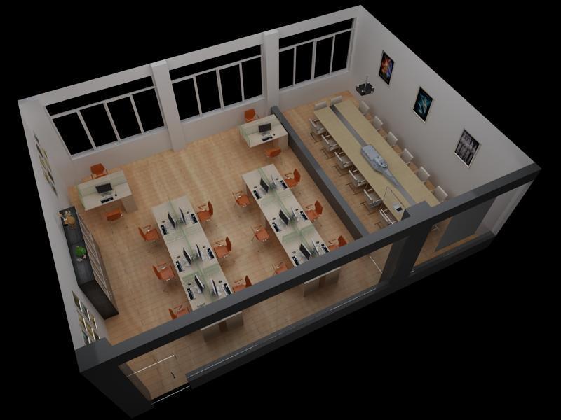 北京欧雷 实验室设备 动漫实训室建设