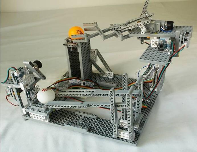 俊原未来之星 供教学试验室用 设计/探究创新机器人模型 5件套