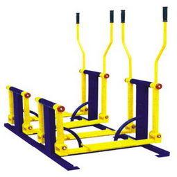 健身锻炼双位平步机加工生产厂家