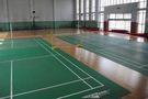 河北師范大學附屬民族學院建實木地板籃球館