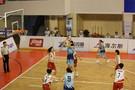 江蘇代表團中學組籃球隊在第十四屆全國學生運動會奪得冠軍